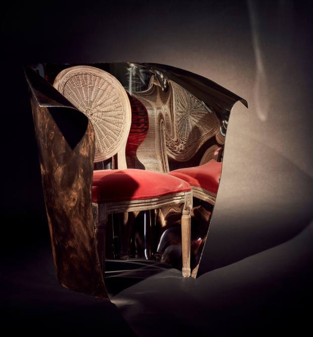 The chairs are currently being showcased at PAD London and will be available to buy exclusively from The Invisible Collection