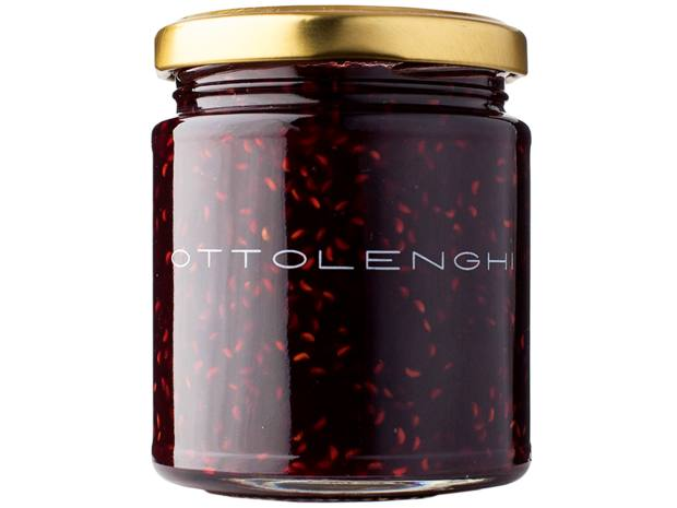 Ottolenghi pear, blackcurrant and ginger jam, £5.50