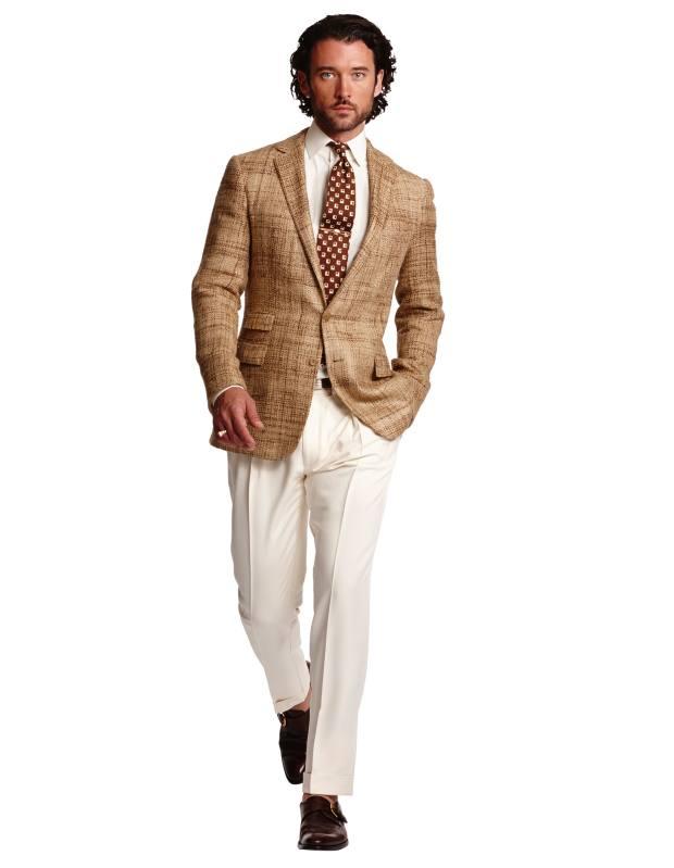 Ralph Lauren Purple Label silk/wool jacket, £3,095