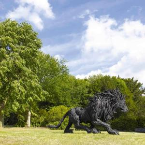 Lion 2, 2008, by Yong Ho Ji, Chatsworth Beyond the Limits sculpture exhibition 2011