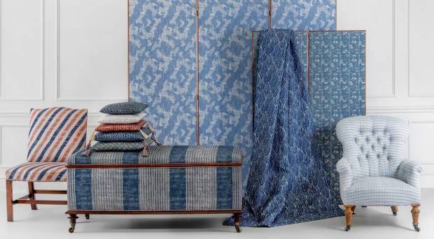 The Nara collection of fabrics and wallpaper