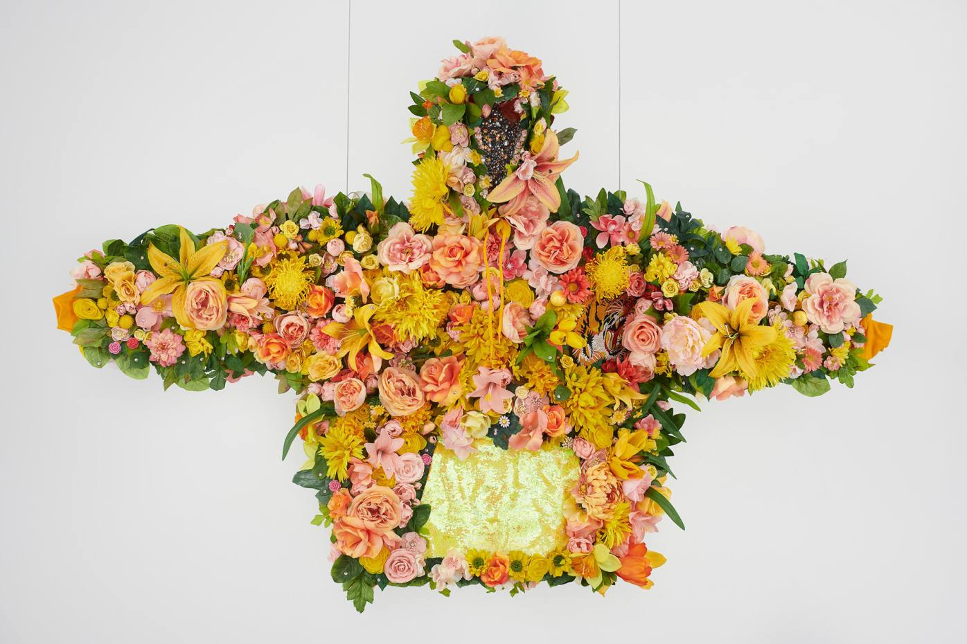 Devan Shimoyama's February II, 2019 features in The Hoodie at the Het Nieuwe Instituut, Rotterdam