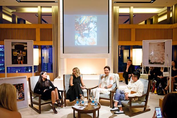 Fanny Moizant, co-founder of fashion site Vestiaire Collective, has spoken atThe Upper House