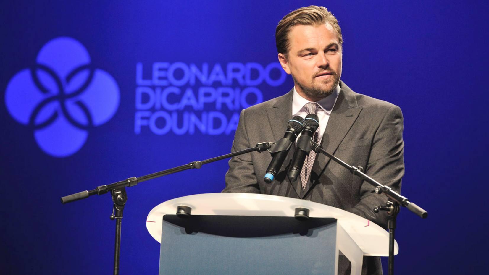 Leonardo DiCaprio will co-host the event