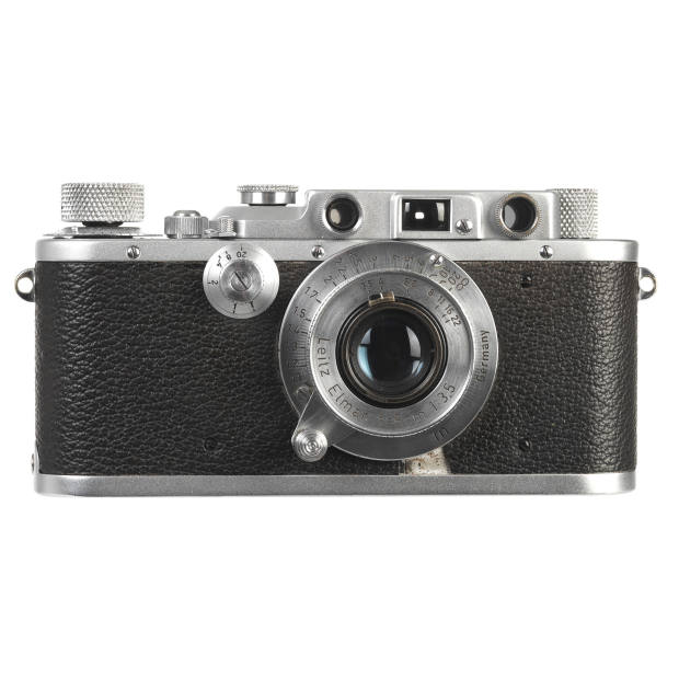 The author's 1937 Leica IIIa