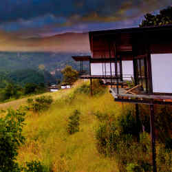 The Santani wellness retreat outside Narampanawa
