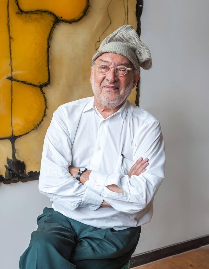 Gaetano Pesce at his SoHo studio, New York