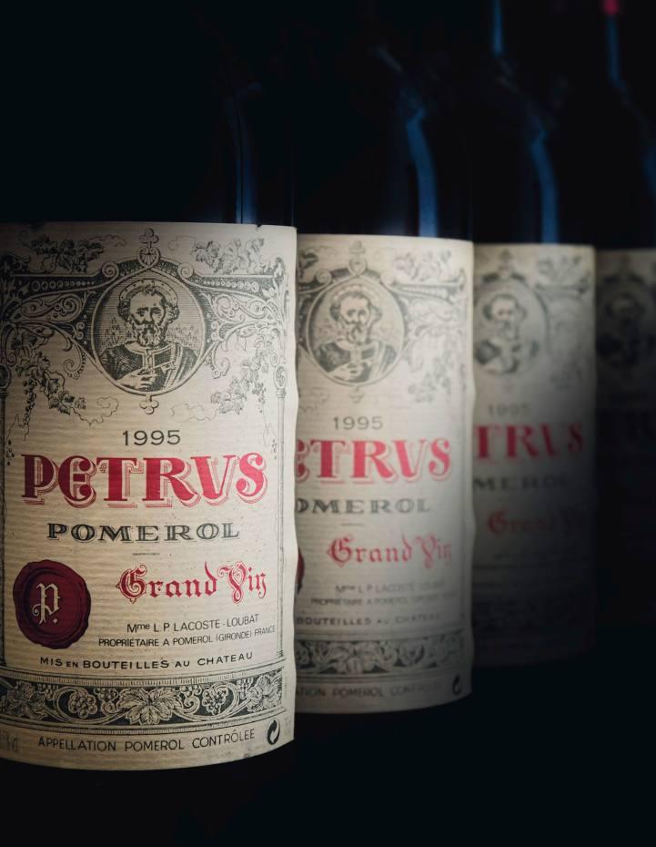 Lot 743, Petrus 1995, 12 bottles, £12,000-£16,000