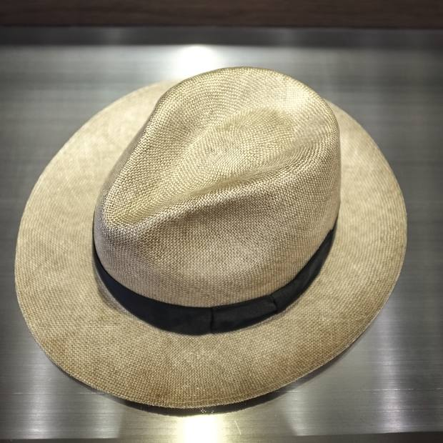 Lock & Co straw hat, about £185