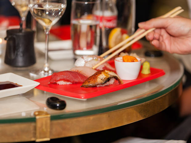 The five-course dinner (priced £85 per person) includes two dishes per course – guests will select a favourite based on presentation and taste