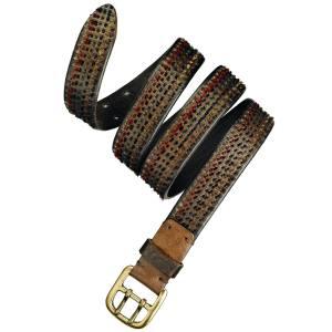 John Varvatos belt in leather, £155