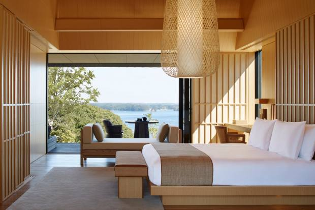 Relaxing rooms await after a Kii mountain ramble at Amanemu – Aman's new Japanese property