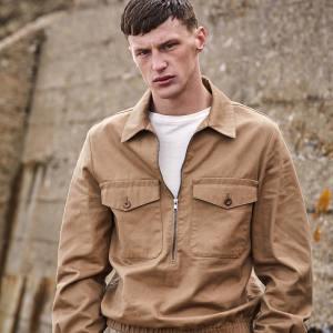MHL by Margaret Howell cotton jacket, £265. Margaret Howell cotton T-shirt, £95. Ermenegildo Zegna cotton/linen trousers, £1,060