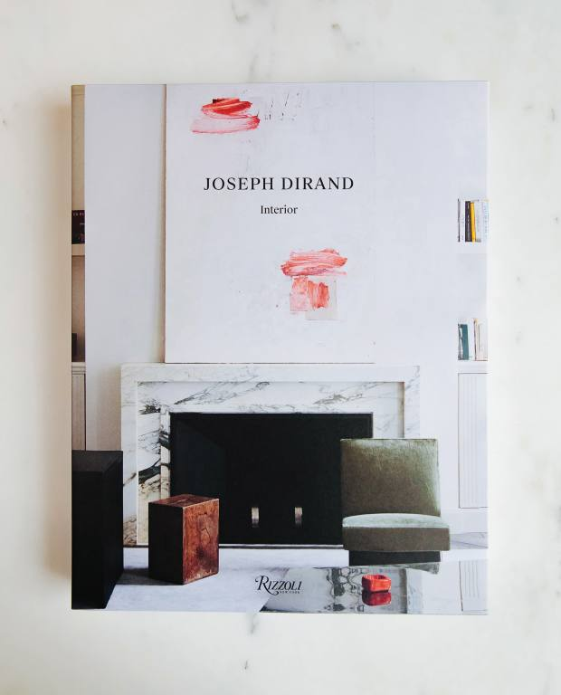 The preface to Dirand's monograph Joseph Dirand: Interior, gifted by his brother Adrien