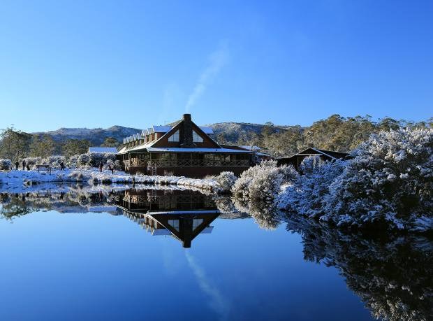 Cradle Mountain Lodge in the Cradle Mountain-Lake St Clair National Park