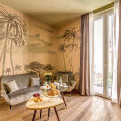 Hotel De' Ricci in Rome was styled by the creators of über-chic concept store Chez Dédé