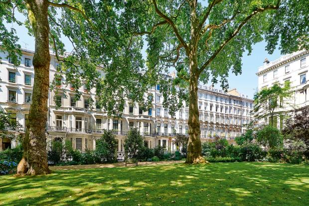 Ennismore Gardens in Knightsbridge, where a 290sq m flat is on offer for £11.95m through Savills