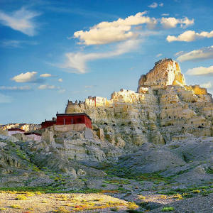 The ancient ruins of Guge Kingdom, Tibet