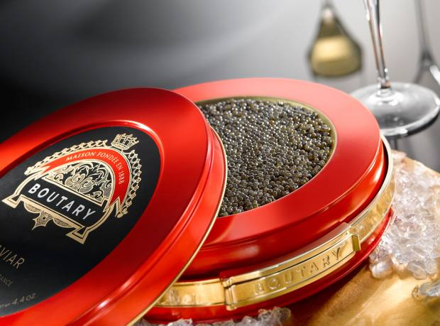 "Boutary restaurant in Paris is ""dedicated to a clientele who want a neo-caviar experience"""