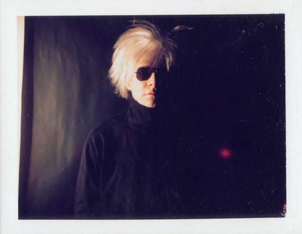 Warhol's Self-Portrait in Fright Wig, 1986