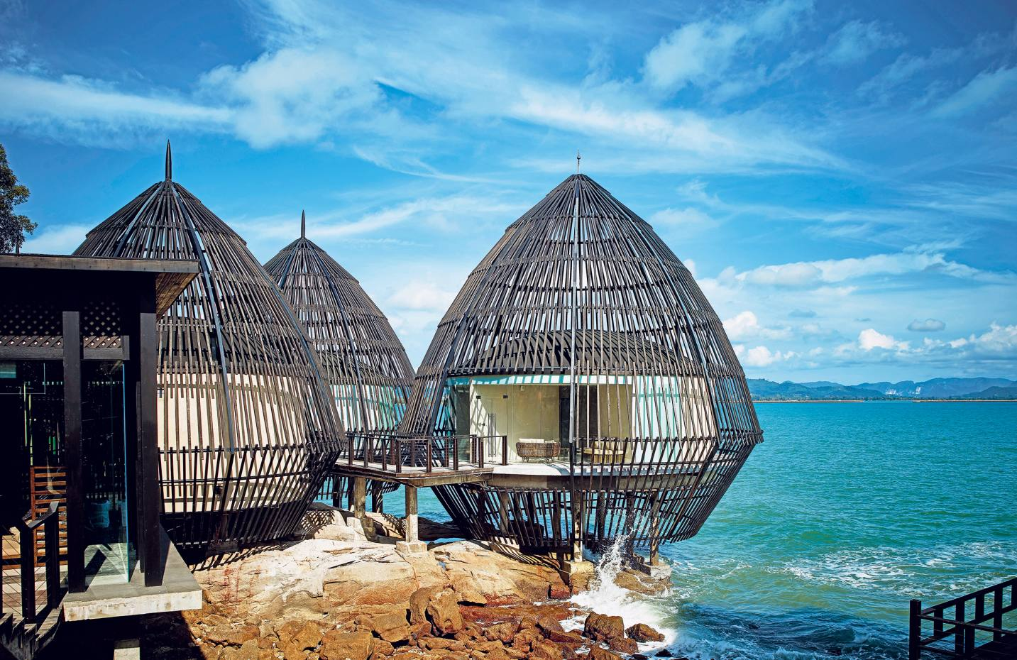 The overwater spa pods at The Ritz-Carlton in Langkawi have wow factor in abundance.