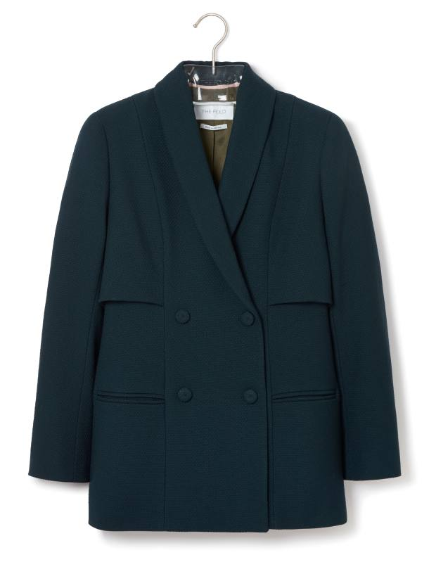 Customised Elgin double-breasted jacket, from £295