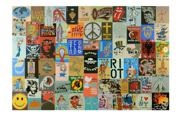 The Redundancy of Ideology by Peter Davies, one of the highlights of Saatchi Gallery's Handpicked auction exhibit
