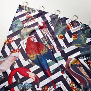 Divine Savages shower curtain, £45