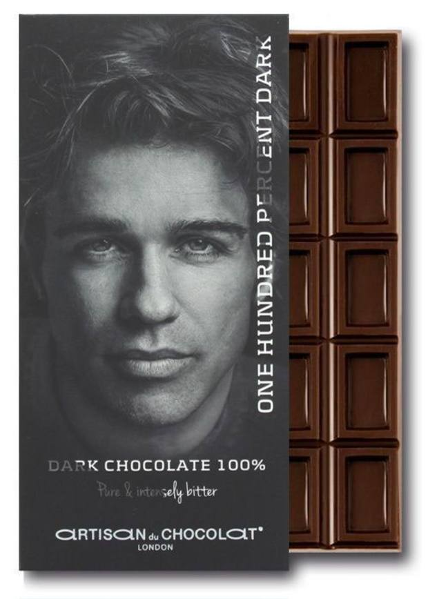 Artisan du Chocolat's 100 per cent Chocolate Bar, recommended by Bodo Sperlein