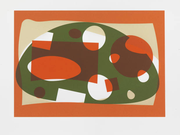 A print from the In the Close Distance collection, on show at Pangolin gallery