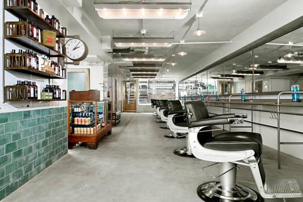 Rudy's Barbershop in New York