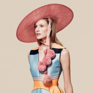 Hat – Edwina Ibbotson for the Royal Ascot Millinery Collective, £1,620, avaliable at Fenwick 