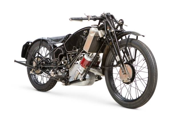 The ex-works, J H Welsby, Isle of Man TT, 1926 Scott 498cc TT racing motorcycle, £30,000-£40,000