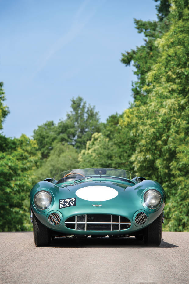 The Aston Martin DBR 1, which RM Sotheby's expects to fetch $20m