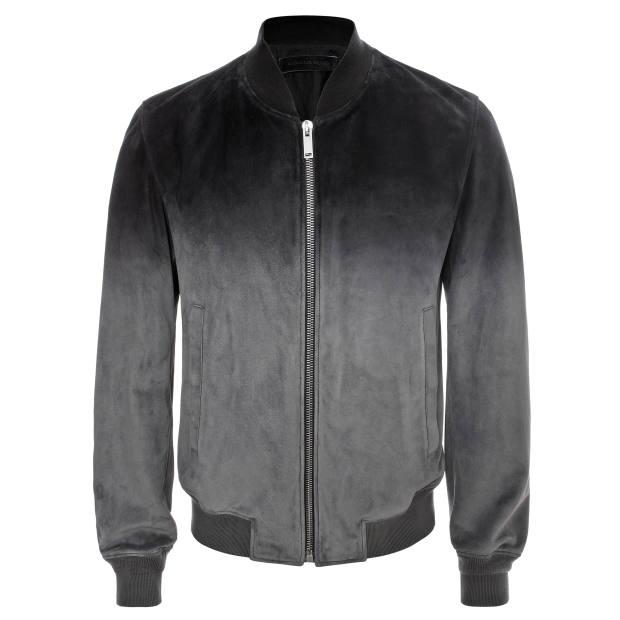 Alexander McQueen calf-suede jacket, £2,295