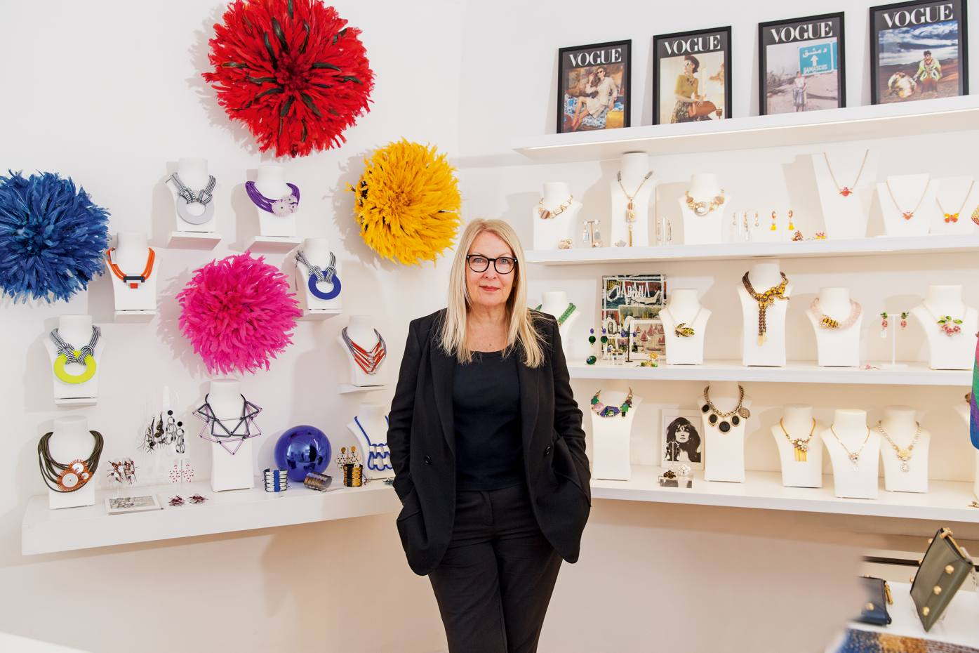 Maggie Owen at her eponymous boutique
