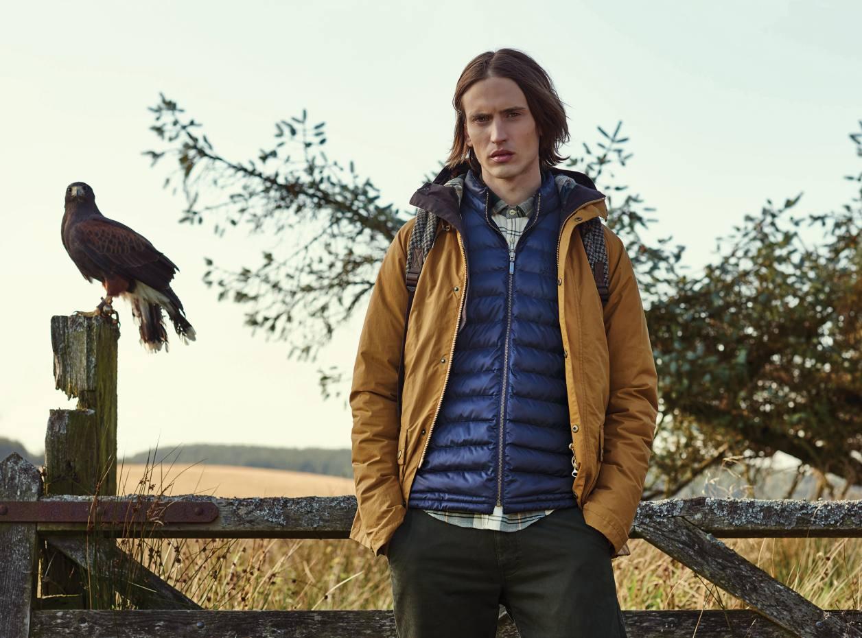 Barbour baffle Templand jacket, £159