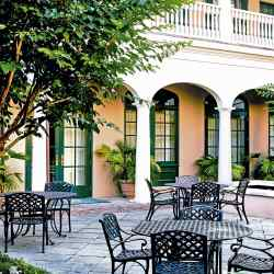Picturesque historic buildings characterise Charleston's French Quarter
