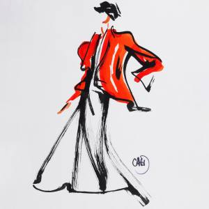 Colin McDowell's Red Jacket, £1,200