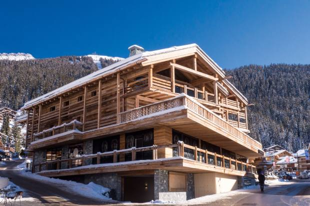 The Rosalp Residences have a six-bedroom apartment with featuressuch as heatedski storage andhigh-level security