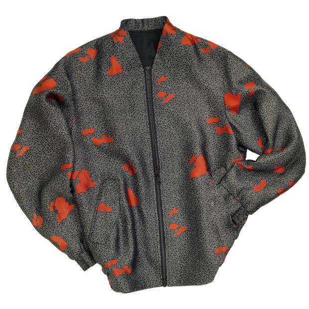 E Tautz silk-jacquard bomber jacket, £850