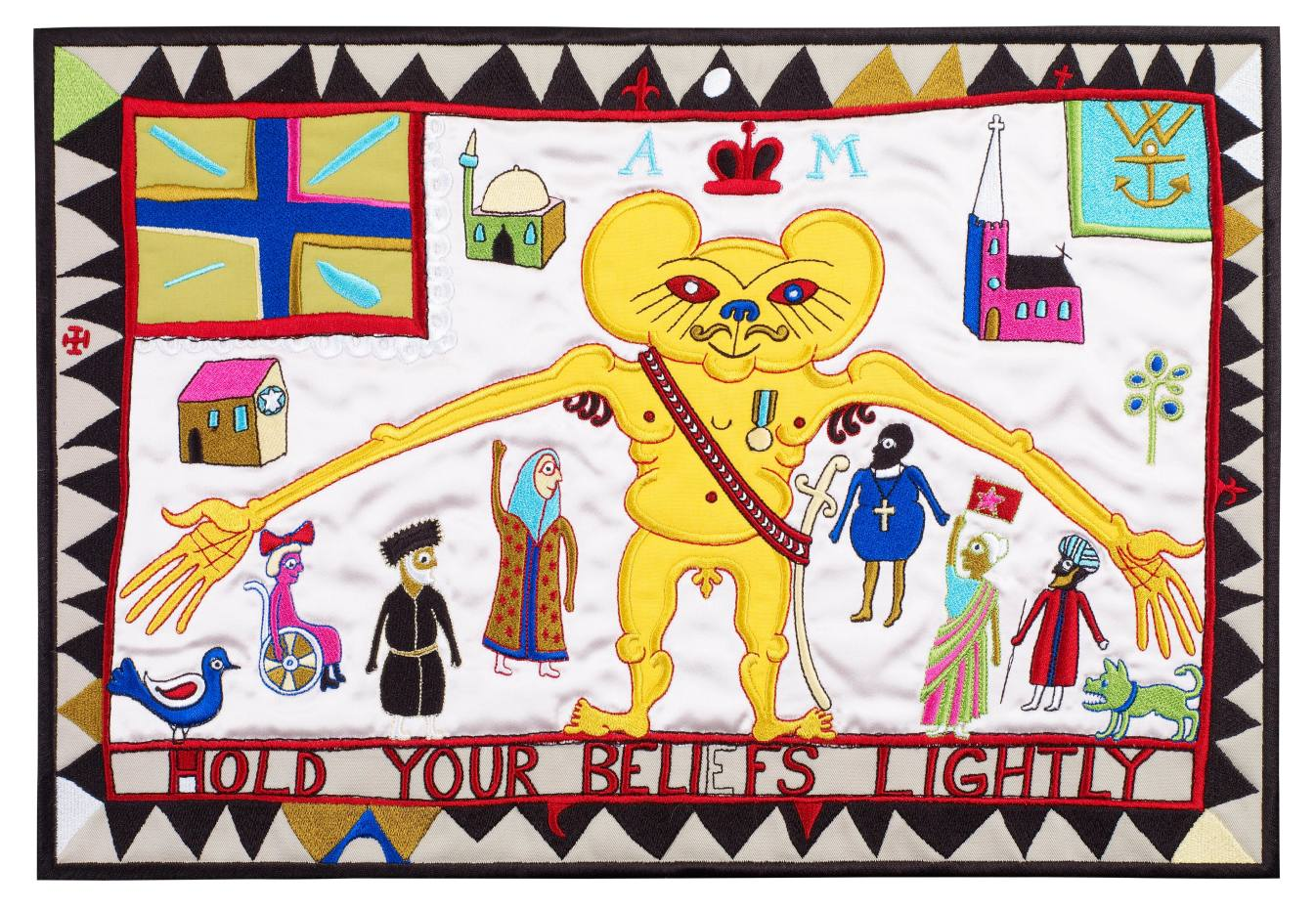 Hold Your Beliefs Lightly (2011) by Grayson Perry