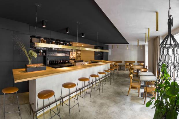 Coda's contemporary and minimalist interior