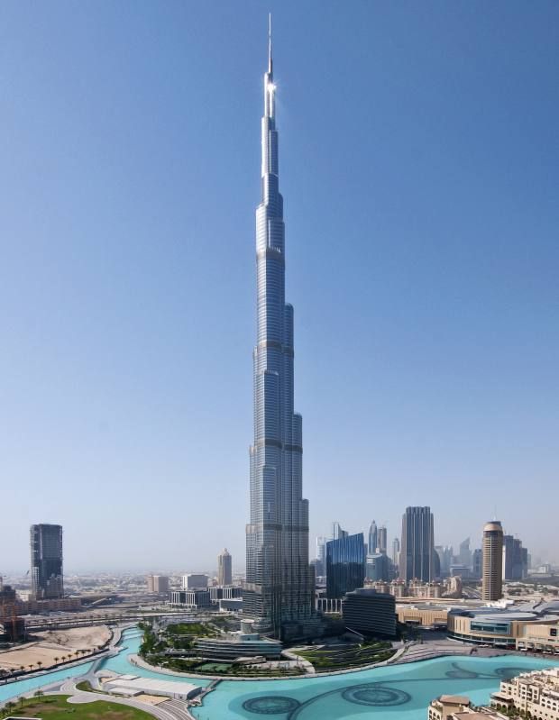The Burj Khalifa, where Hamptons recently sold a two-bedroom apartment in the Armani Residences for £1,337,230