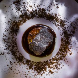 Lucullus ox tongue is on Thierry Marx's space menu at Sur Mesure