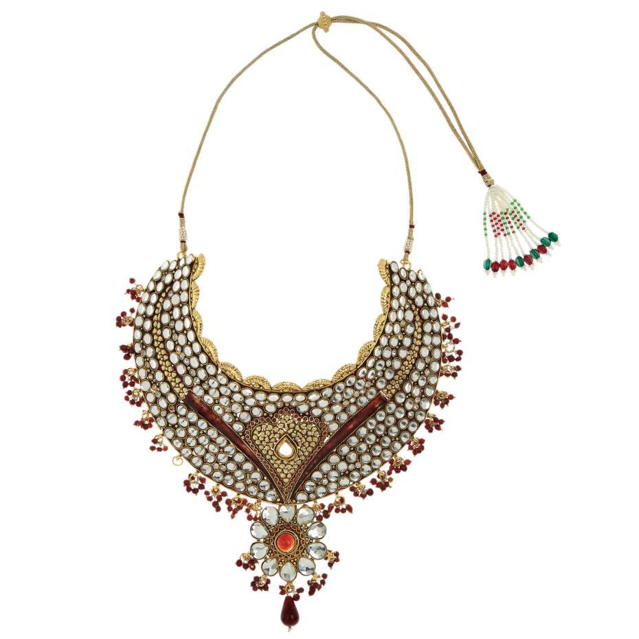 Indian wedding necklace, £575