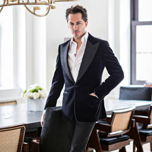 Kilian Hennessy at home in New York