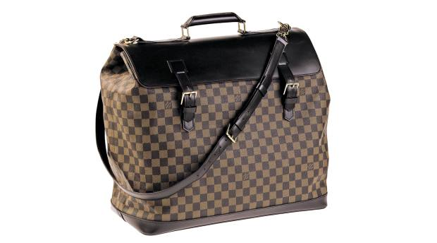 Louis Vuitton Damier West End PM bag,  1996, sold for $1,095 at therealreal.com