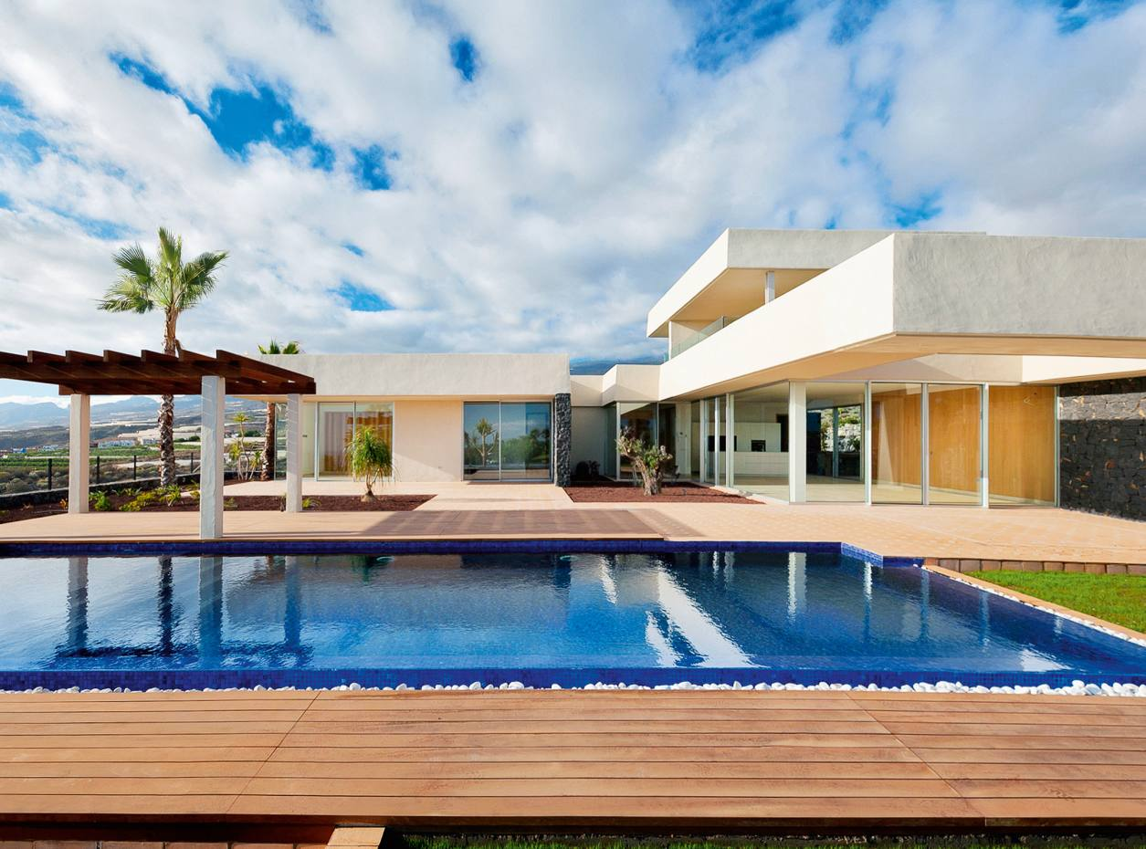 A custom-designed villa at Tenerife's Abama Golf & Health Resort, about €2m