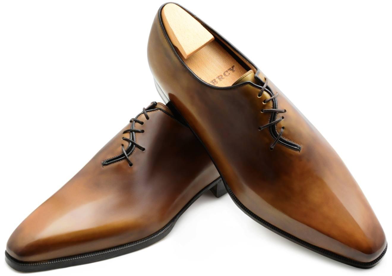 Aubercy box-calf Ellipse shoes, €1,550